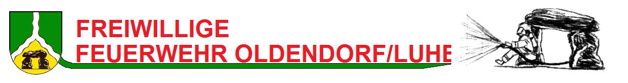 Feuerwehr Oldendorf Banner
